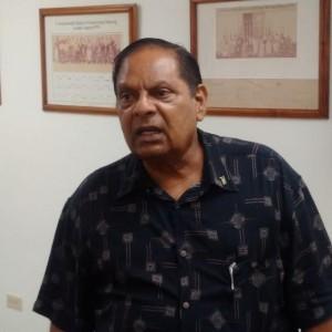 Prime Minister Moses Nagamootoo.
