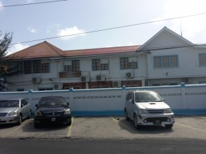 The headquarters of the Guyana Gold Board, Brickdam, Georgetown.