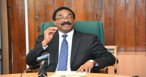 Attorney General, Basil Williams (Guyana Chronicle photo).