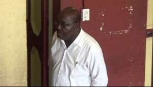 FILE PHOTO: Carville Duncan at the Georgetown Magistrates' Court.