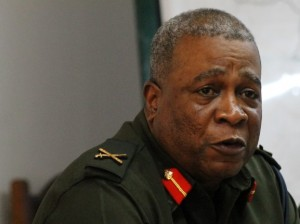 Chief-of-Staff of the Guyana Defence Force, Brigadier Mark Phillips.
