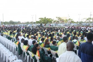 University of Guyana graduates in 2015.