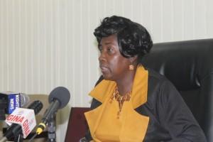Communities Minister Valerie Patterson