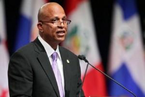 Caricom Chairman, Belize Prime Minister Dean Barrow.