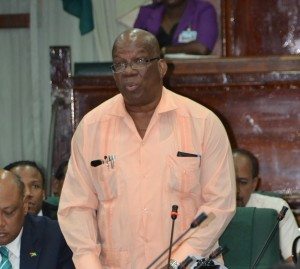 Minister of Finance Winston Jordan