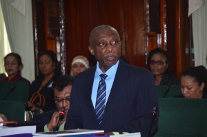 Foreign Affairs Minister Carl Greenidge
