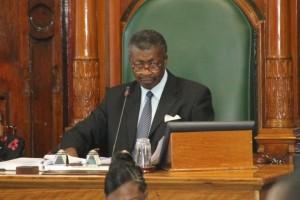 House Speaker, Dr. Barton Scotland.