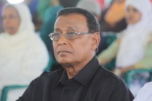 Guyana's Ambassador to Cuba, Halim Majeed.
