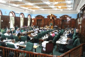 A sitting of the National Assembly
