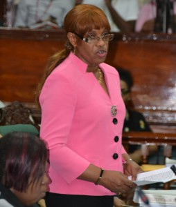 People's Progressive Party Civic member, Dr. Jennifer Westford.
