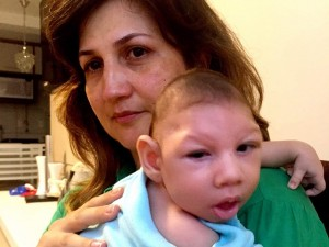 Marilla Lima had Zika virus while pregnant. Her 2 1/2-month-old son, Arthur, has microcephaly -- a birth defect characterized by a small head and severe brain damage.