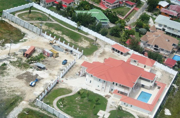 The residence of former President Bharrat Jagdeo at Goedverwagting also known as Pradoville 2.