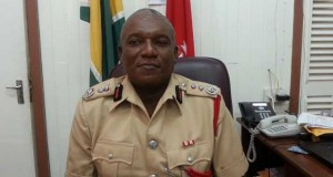 Fire Chief Marlon Gentle