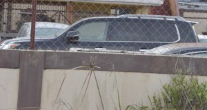 One of the seized vehicles