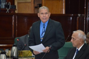 Health Minister Dr George Norton