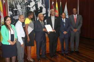 President Granger received the long awaited report on Friday