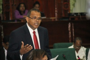 PPP MP Dr Frank Anthony