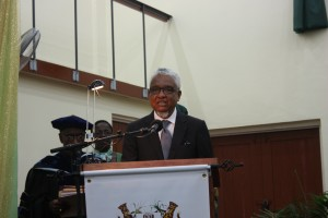 Professor Nigel Harris, Chancellor of UG