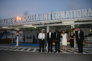 The Ogle International Airport has been renamed Eguene Eugene F. Correia International Aiport