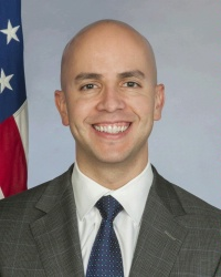 United States' Deputy Assistant Secretary of State for Western Hemisphere Affairs, Juan Sebastian Gonzalez.
