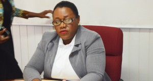 Natural Resources Minister Simona Broomes