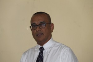 President of Guyana Help the Kids organisation, Dr. Narendra Singh.