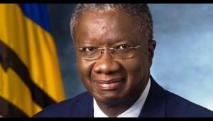 Barbados' Prime Minister, Freundel Stuart.