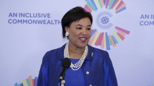 Commonwealth Secretary General, Baroness Patricia Scotland.
