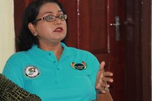 GuyExpo Coordinator, Tameca Sukhdeo-Singh.