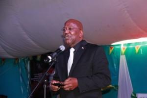 Prime Minister of St. Maarten, William Marlin.