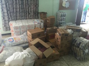 Supplies for Moraikobai residents affected by flooding
