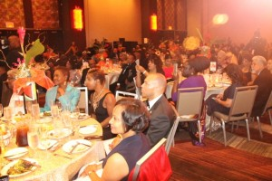 A section of the attendees at the Guyana Jubilee State Dinner at the Sheraton Hotel, Manhattan, New York.