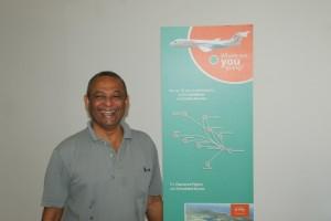 Fly Allways' Consultant, Ronald Sahtoe.