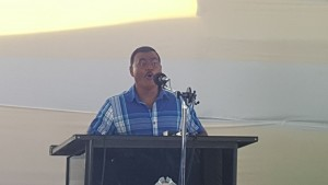 Acting Police Commissioner, David Ramnarine.