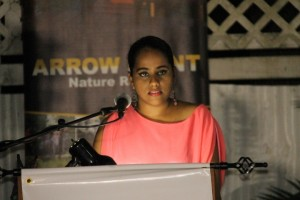 University of Guyana's Masters in Public Health student, Liza Marie-Merai.