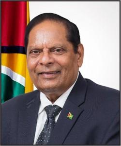 Prime  Minister Moses Nagamootoo