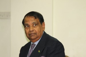 Ambassador to Kuwait, Shamir Ally.