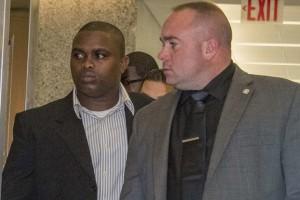 Wayne Isaacs seen in Brooklyn Supreme Court on Tuesday. (NEW YORK POST PHOTO)