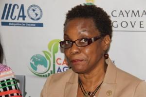 acting sub-regional FAO Coordinator, Lystra Fletcher-Paul