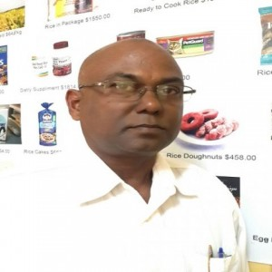 Acting General Manager of Guyana Rice Development Board, Kuldip Ragnauth.
