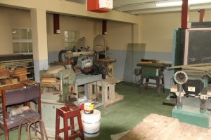 Decades-old equipment at the Kingston Practical Institute that authorities need help in replacing.