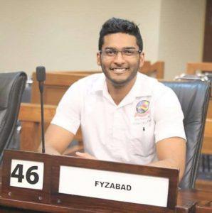 UWI Guild Vice President, Michael Rajnauth
