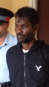 "MURDER ACCUSED: Jainarine ""Payo"" Balgobin."