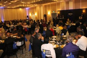 Attendees at the Georgetown Chamber of Commerce and Industry's 2016 Dinner and Awards Ceremony.