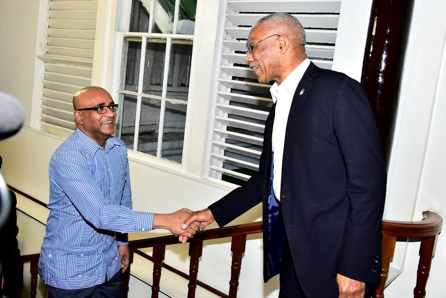 Image result for granger meets jagdeo