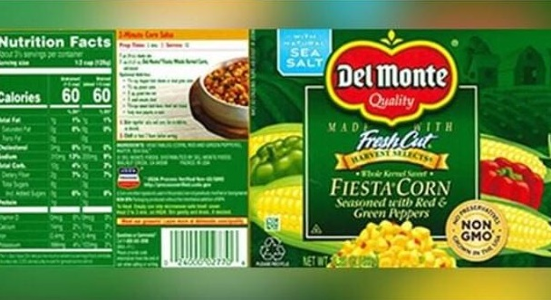 Del Monte recalling over 64,000 cans of Fiesta Corn
