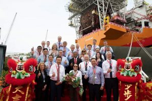 First Lady commissions ExxonMobil's first FPSO for Guyana – Demerara